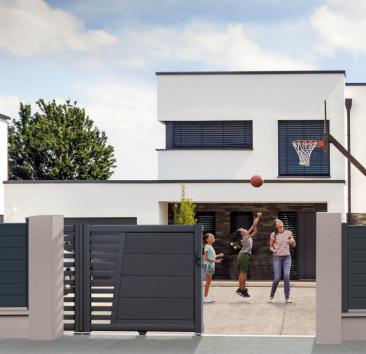 Esthétique portail volet et porte de garage