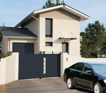 Harmonisation portail et porte de garage